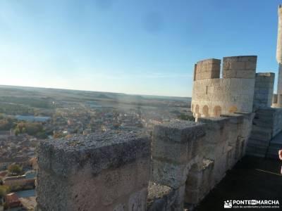 Ribera del Duero,visita enológica-Peñafiel; empresas de senderismo en madrid federarse en montaña